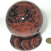Фен-шуй и эзотерика ручной работы. Ярмарка Мастеров - ручная работа Шар из обсидиана, натурального природного камня. Handmade.