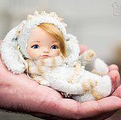 Куклы и игрушки ручной работы. Ярмарка Мастеров - ручная работа Тедди долл Зайка. Handmade.