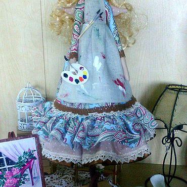 Куклы и игрушки ручной работы. Ярмарка Мастеров - ручная работа Кукла тильда Ангел для художницы. Handmade.