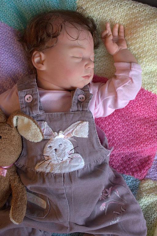 Куклы-младенцы и reborn ручной работы. Ярмарка Мастеров - ручная работа. Купить Малышка реборн Vivien .. Handmade.