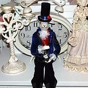 Куклы и игрушки ручной работы. Ярмарка Мастеров - ручная работа Кукла фарфоровая Белый Кролик Алисы. Handmade.