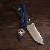 Сувениры и подарки handmade. Livemaster - original item Bead with a lanyard compass. Handmade.