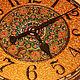 Часы для дома ручной работы. Ярмарка Мастеров - ручная работа. Купить Часы- Мандала на счастье: Восточная сказка. Handmade. Интерьер