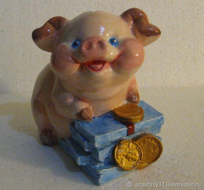 Копилка Поросенок на деньгах, Копилки, Сочи,  Фото №1