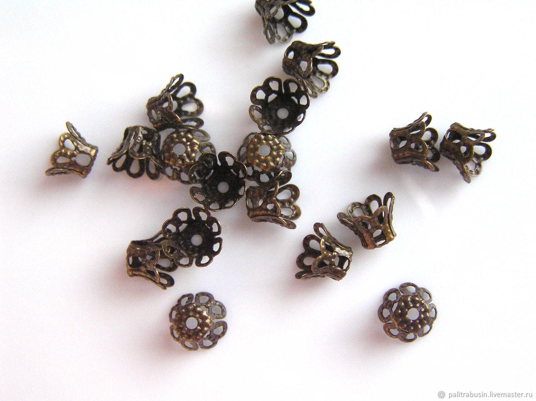 Cap beads filigree, Accessories4, Tyumen,  Фото №1