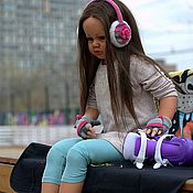 Куклы и игрушки ручной работы. Ярмарка Мастеров - ручная работа девочка тодлер reborn baby. Handmade.