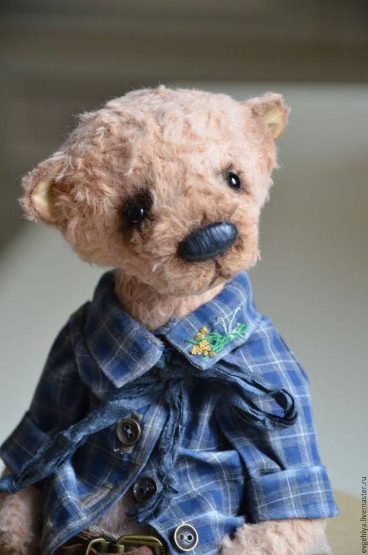 Мишки Тедди ручной работы. Ярмарка Мастеров - ручная работа. Купить Руперт. Handmade. Коричневый, мишка ручной работы, батист