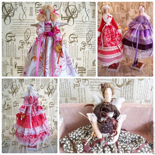 Куклы Тильды ручной работы. Ярмарка Мастеров - ручная работа. Купить Куклы в стиле Тильда. Handmade. Комбинированный, тильда