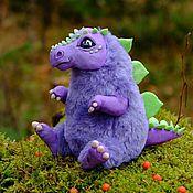 Куклы и игрушки ручной работы. Ярмарка Мастеров - ручная работа Стегозавр Динозавр Динозаврик игрушка. Handmade.