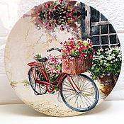 """Для дома и интерьера ручной работы. Ярмарка Мастеров - ручная работа Тарелка настенная """"Для тебя"""". Handmade."""