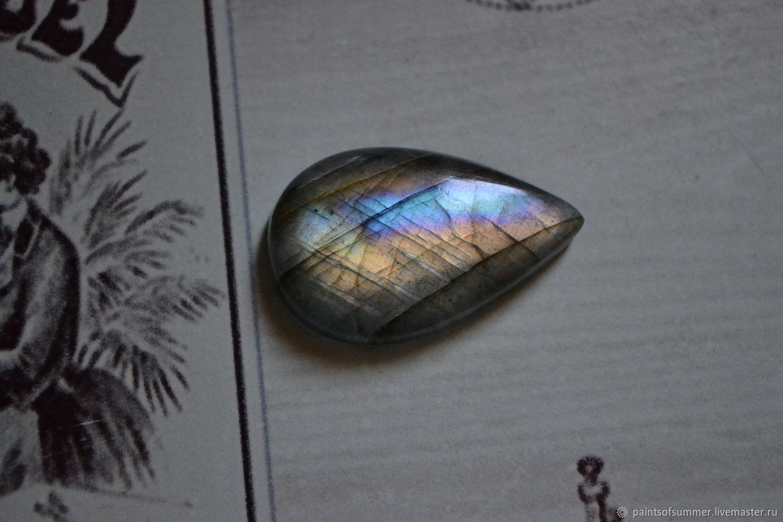Labradorite. Cabochon 29 X 18 X 5, Cabochons, Moscow,  Фото №1