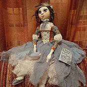 """Куклы и игрушки ручной работы. Ярмарка Мастеров - ручная работа Будуарная кукла """"Мечтая в тумане"""". Handmade."""