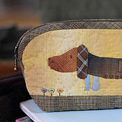 Сумки и аксессуары handmade. Livemaster - original item cosmetic bag fee. Handmade.