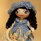 Куклы и игрушки ручной работы. Ярмарка Мастеров - ручная работа куколка «заботливая Мама с малышом». Handmade.