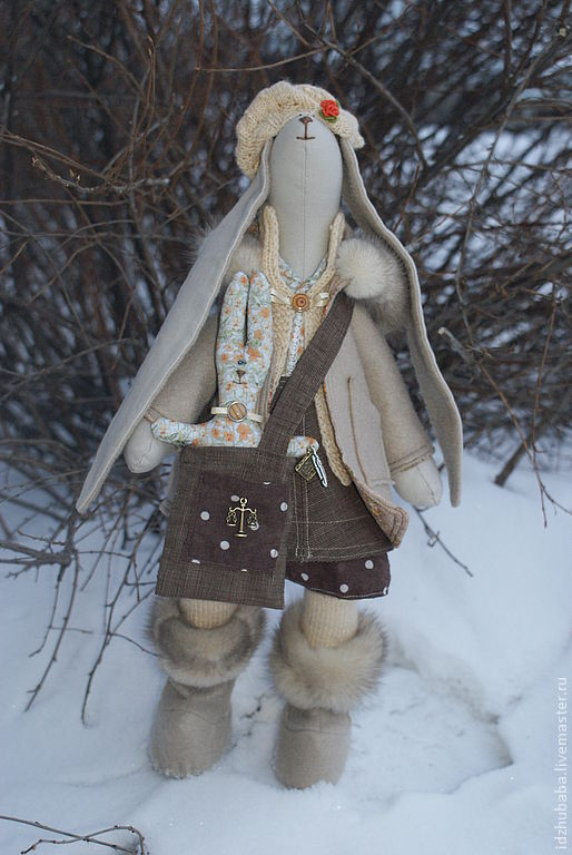 Куклы Тильды ручной работы. Ярмарка Мастеров - ручная работа. Купить Зайка. Handmade. Тильда, лён с хлопком