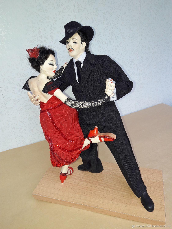 Art dolls Dance Argentine tango, Dolls, Lesnoj,  Фото №1