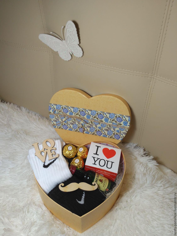 Подарочная коробка мужская