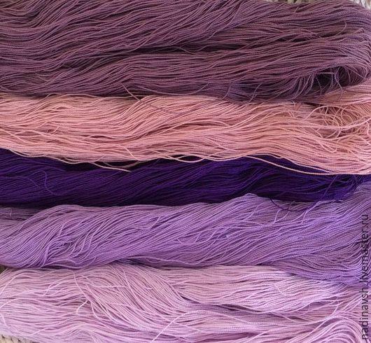 Вязание ручной работы. Ярмарка Мастеров - ручная работа. Купить Нитки лен. Handmade. Нитки, пряжа для крючка, ирландское вязание