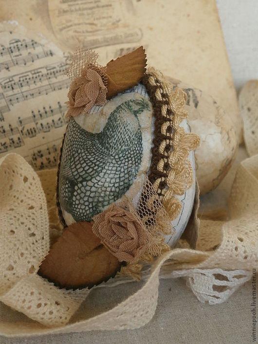 Подарки на Пасху ручной работы. Ярмарка Мастеров - ручная работа. Купить Пасхальное яйцо. Handmade. Яйцо деревянное, старина, цветы