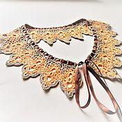 Аксессуары handmade. Livemaster - original item Lace collar crochet No. №39. Handmade.