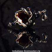 Украшения handmade. Livemaster - original item Pendant shell Lampwork.. Handmade.