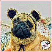 """Для домашних животных, ручной работы. Ярмарка Мастеров - ручная работа Шапка для собаки """" Миша"""". Handmade."""