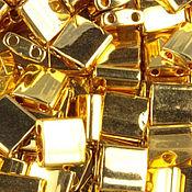 Материалы для творчества ручной работы. Ярмарка Мастеров - ручная работа Миюки ТИЛА 191 metallic 24Kt gold finish 10гр. Handmade.
