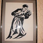 Картины и панно ручной работы. Ярмарка Мастеров - ручная работа Целующаяся пара. Handmade.