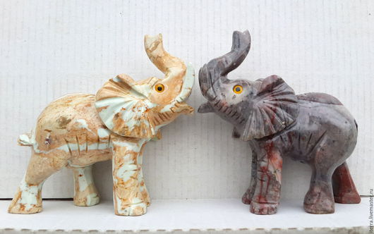 Обереги, талисманы, амулеты ручной работы. Ярмарка Мастеров - ручная работа. Купить Счастливые слоны с хоботом вверх :). Handmade.