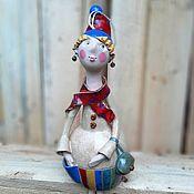 Куклы и игрушки handmade. Livemaster - original item Thoughtful girl. Handmade.