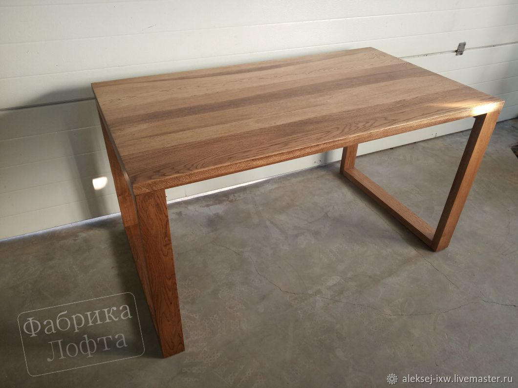 Dining table made of oak 800h1300 mm, Tables, Moscow,  Фото №1