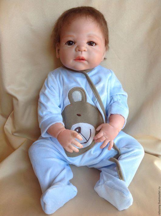 Куклы-младенцы и reborn ручной работы. Ярмарка Мастеров - ручная работа. Купить Кукла Реборн (Reborn) Мальчик. Handmade. Голубой
