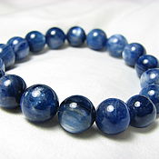 Украшения handmade. Livemaster - original item Bracelet with kyanite
