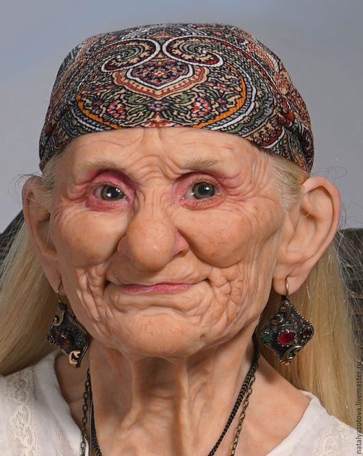Портретные куклы ручной работы. Ярмарка Мастеров - ручная работа. Купить Та, которая была прекрасной Джокондой. Handmade. Коричневый