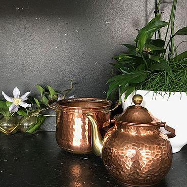 Vintage handmade. Livemaster - original item Copper ware, 2 PR., handmade, Holland. Handmade.