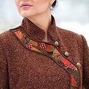 """Одежда ручной работы. Ярмарка Мастеров - ручная работа Пальто демисезонное """"Ассиметрия"""". Handmade."""