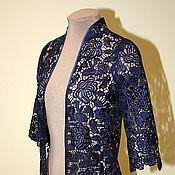 Одежда handmade. Livemaster - original item Lace Cape. Handmade.