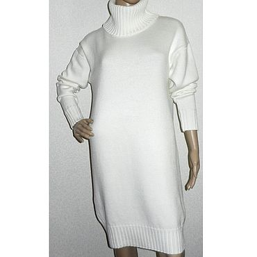 Clothing. Livemaster - original item Dress knitted oversize Annet. Handmade.