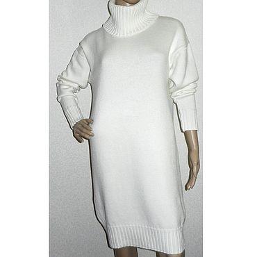 Одежда ручной работы. Ярмарка Мастеров - ручная работа Платье  вязаное оверсайз Annet. Handmade.