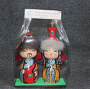 Куклы и игрушки ручной работы. Ярмарка Мастеров - ручная работа Этнические монгольские куклы. Handmade.