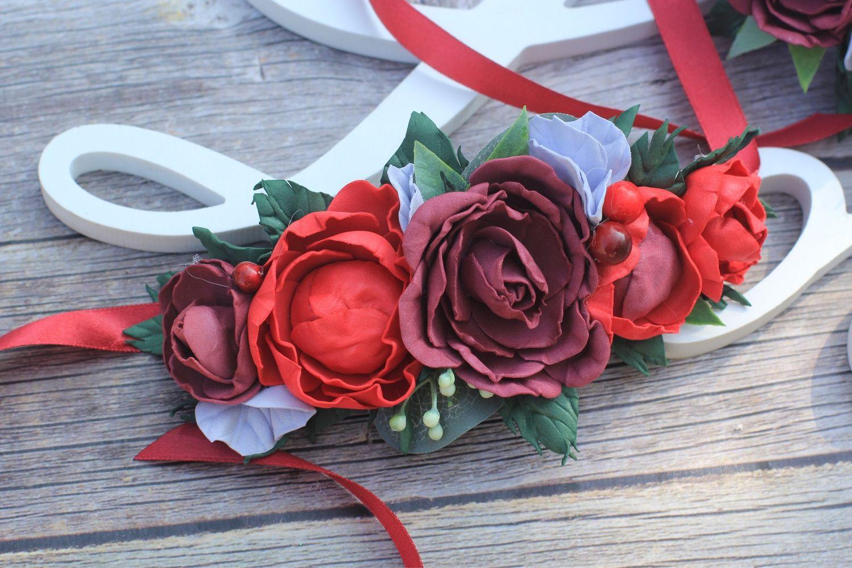 Свадебный браслет, бутоньерка , бутоньерка на руку, браслет для, Браслеты, Сочи,  Фото №1