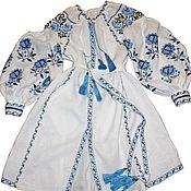 Одежда ручной работы. Ярмарка Мастеров - ручная работа Вышитое платье. Вышиванка. Макси платье.. Handmade.