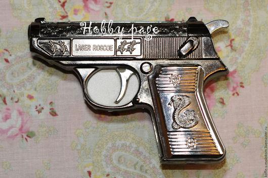 Материалы для косметики ручной работы. Ярмарка Мастеров - ручная работа. Купить Силиконовая форма для мыла Пистолет со змеёй. Handmade.