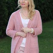 """Одежда ручной работы. Ярмарка Мастеров - ручная работа Кардиган """"Розовый вечер"""". Handmade."""