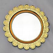 Для дома и интерьера handmade. Livemaster - original item Mirror wall decorative. Handmade.