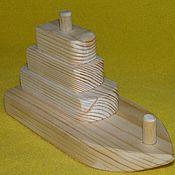 Куклы и игрушки ручной работы. Ярмарка Мастеров - ручная работа Пирамидка-кораблик. Handmade.