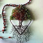 Украшения ручной работы. Ярмарка Мастеров - ручная работа Древо Врата... макси-кулон. Handmade.