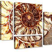 Картины и панно handmade. Livemaster - original item Polyptych Shell. Handmade.