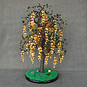 Цветы и флористика handmade. Livemaster - original item The tree acacia of coral. Handmade.