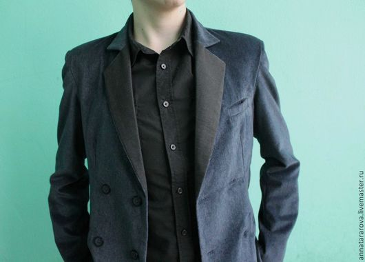 Пиджаки, жакеты ручной работы. Ярмарка Мастеров - ручная работа. Купить Пиджак. Handmade. Пиджак, клубный пиджак, Авторский дизайн
